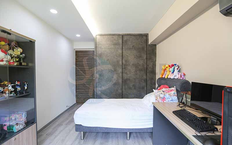 Bedroom Design with Industrial Theme